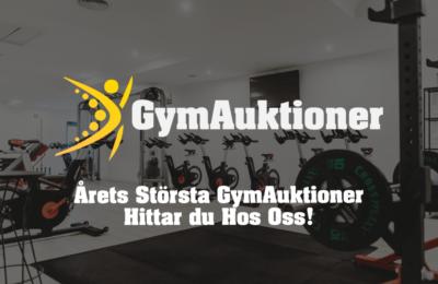 Fynda förstaklassig Gymutrustning på GymAuktioner.se